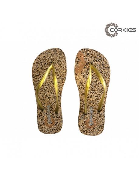 Corkies - Slim Flip Flop Cork & Rubber