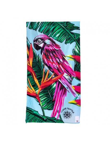 ILOVETEXTILE - Parrot Towel