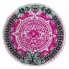 ILOVETEXTILE - Toalha redonda Ollin pink