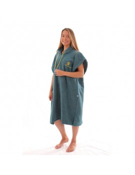 Pacific Sud  - Surf Poncho Blue Pacific
