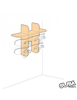 SUBAramps - Wall Rack