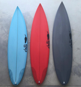Chilli Surfboards - Fader Quiver