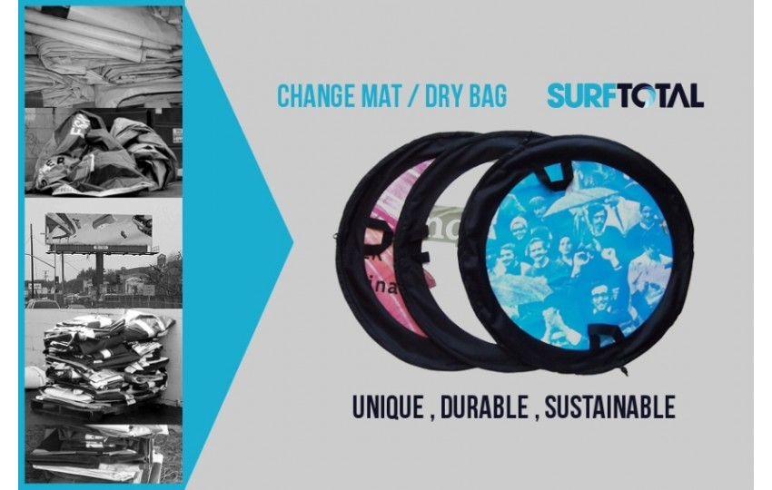 Sustainable and durable SurfTotal Change Mat / Dry Bag
